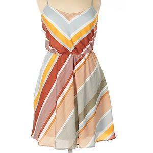 Lauren Conrad Striped Summer Dress